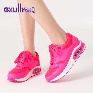 依思Q春季新款女鞋白色运动鞋女士休闲鞋韩版气垫鞋
