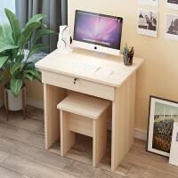 简易电脑桌儿童单人写字桌椅书桌简约学生家用卧室桌子带抽屉桌子