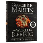 冰与火之歌的世界 英文原版 The World of Ice and Fire 官方设定集 精装收藏版 权利的游戏 英