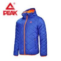 匹克保暖棉衣 冬季新款 男款 时尚休闲防风纯色运动外套F564561