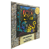 英文原版绘本 Smoky Night 烟雾缭绕的夜晚 凯迪克大奖金奖 儿童英语课外阅读启蒙故事书 Eve Buntin