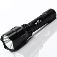 强光手电筒可充电LED远射王迷你探照灯家用户外骑行