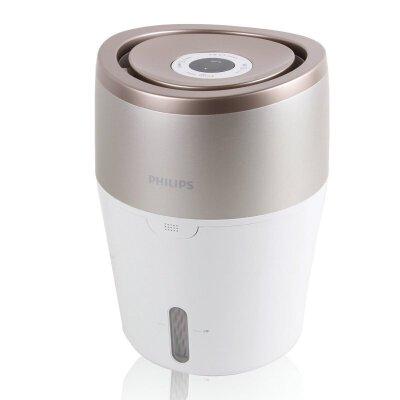 飞利浦 Philips 空气加湿器 HU4803/00 智能加湿 自动模式 三重速度 空气滋润加湿 双重空气加湿器 超静音家用无雾冷蒸发技术