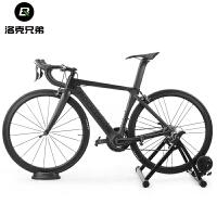 公路山地自行车骑行台前轮垫固定块室内训练防滑塑料垫