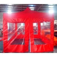 广告折叠帐篷 活动摆摊遮阳棚 伸缩雨棚车棚 透明围布带帐篷印字