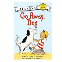 英文原版 Go Away, Dog 小狗,走开 [平装] [4-8岁]