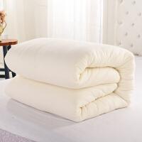???新疆棉絮垫被长绒棉棉花被芯纯棉花被子冬被全棉8斤6斤双人被褥