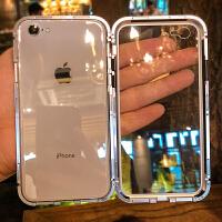 苹果6splus手机壳iphone6保护套6s全包防摔6超薄硅胶6plus新款透明玻璃i6网红个性同