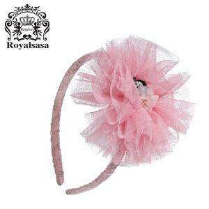皇家莎莎女童发饰女宝宝发带发卡子婴儿发箍发夹头箍韩版头饰头花