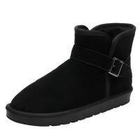 雪地靴冬天男鞋加厚保暖男士东北大棉鞋45加绒46特大码47号48冬季真皮