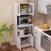 餐边柜简约现代简易储物收纳柜厨房微波炉柜阳台单体碗橱家具o2t