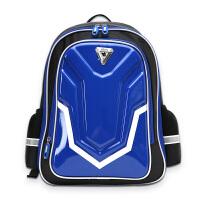 智高(ZHIGAO)小学生书包 儿童背包男孩双肩包 1-3-6年级男生炫酷镜面减负休闲背包 ZG-8475蓝色 当当自