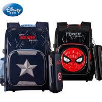 迪士尼书包小学生男校园1-4年级儿童背包大容量6-10岁男孩双肩包