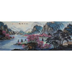 实力派彩墨画家   王红彦  碧湖春韵   /155
