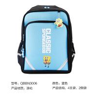 M&G晨光 大号书包 初高中双肩包 大容量多层背包多功能 蓝色 QBBN3006 当当自营