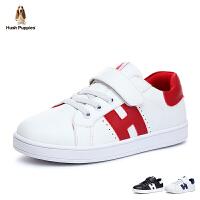 暇步士Hush Puppies童鞋17新款儿童运动鞋舒适休闲滑板鞋男童休闲板鞋 (7-12岁可选)