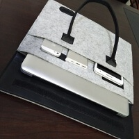 戴尔14寸华硕15.6寸男手提电脑包苹果15寸mac12寸air13寸女笔记本内胆包