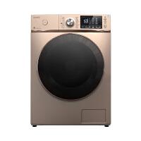 美的(Midea)MD90-1617WIDQCG 9公斤洗衣机 洗烘一体 智能投放 变频节能 家用 金色