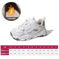 【超品价:136.9元】百丽极光小虎牙童鞋男女童老爹鞋2020冬季新品加绒大童休闲鞋儿童运动鞋