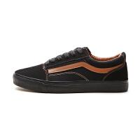 鞋子男韩版潮鞋秋季低帮系带男鞋学生帆布鞋个性