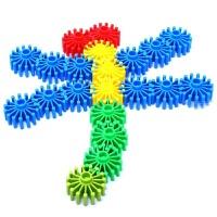 齿轮积木塑料拼插拼装积木儿童幼儿园玩具3岁以上
