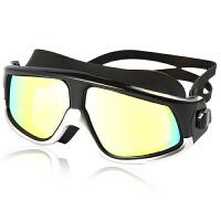 大框泳镜游泳镜高清防雾近视防水镀膜女士男游泳装备潜水眼镜