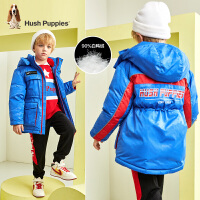 【预估券后价:440元】暇步士童装男童羽绒服冬装新款儿童中长款外套中大童宝宝外套