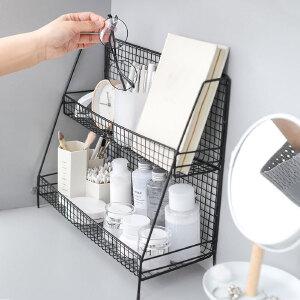 【年终狂欢 限时直降包邮】幸阁桌面桌上书架收纳架创意DIY书架可随意拉伸收缩书架置物架