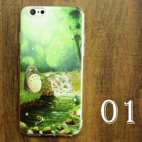 龙猫卡通手机壳oppo r外壳iphone7苹果6s小米6透明x9 plus软套 OPPO R(软壳)