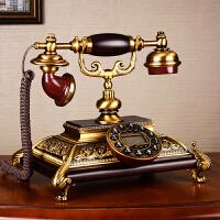 别墅仿古欧式电话机美式家用复古老式电话机客厅座机礼品