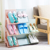 多功能塑料鞋架简易多层经济型鞋架子家用叠加收纳架简约现代鞋柜