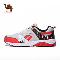 骆驼运动越野跑鞋 男款秋冬防滑透气平衡时尚跑步鞋