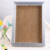 摆台相框A4亚克力相框塑料画框胶相框支架画框奖状证书 A4银色木质相框
