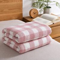 水洗纯棉三层纱布毛巾被全棉毛巾毯单人双人吸汗床单1.5米1.8米床