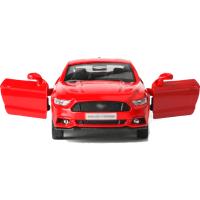 福特野马合金车模款 合金汽车模型1:36回力汽车男孩儿童玩具 红色 盒装