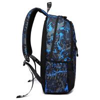 书包男中学生背包高中大学生时尚潮流韩版男士双肩包休闲旅行包