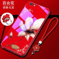 优品iphone6手机壳苹果6s保护硅胶套6plus防摔i6玻璃6p软壳ip6女款潮6sp个性创意红