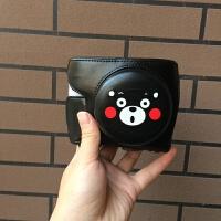 定制松下GF9 GF8 GF7皮套微单相机包12-32镜头保护套卡通熊本