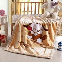 儿童毛毯双层加厚冬季珊瑚绒办公室午睡毯盖腿毯宝宝婴儿小毯子