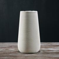 简约现代家居工艺饰品软装设计创意摆件陶瓷水培花瓶灰