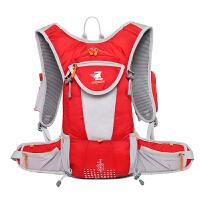 超轻骑行背包双肩包悬浮透气背负男女户外小登山包休闲包