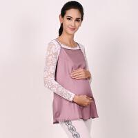 孕妇防辐射服四季吊带背心电脑内穿银纤维大码上衣怀孕期衣服7302