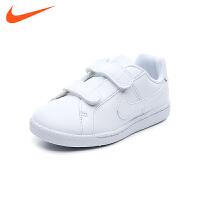耐克nike童鞋18新款男女童运动鞋儿童板鞋户外休闲鞋耐磨防滑小白鞋 (5-10岁可选) 833536 102
