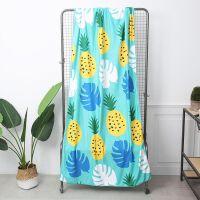 外单尾单夏季毯子夏威夷沙滩毛毯午睡毯汽车毯盖毯游泳浴巾 180cmx100cm