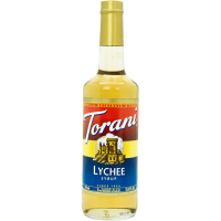 Torani/特朗尼荔枝糖浆 特罗尼风味果露 咖啡辅料 美国进口 750ml