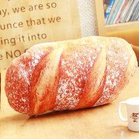 创意仿真面包抱枕腰靠办公室靠背腰枕新年公仔生日礼物女儿童玩具