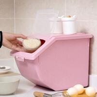 塑料密封米桶厨房防虫储米箱10kg家用防潮米箱米盒子装大米收纳箱