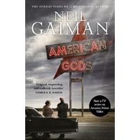 【现货】英文原版 Neil Gaiman: American Gods 美国众神 美剧封面版 尼尔・盖曼 英文原版 新