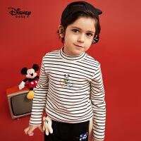 【2件3折:41.7元】迪士尼男童秋装打底衫2020春秋宝宝儿童米奇洋气长袖T恤