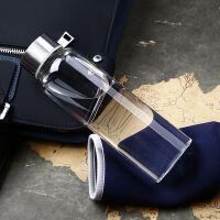 水杯玻璃运动水瓶创意广告促销礼品杯子定制LOGO小商品